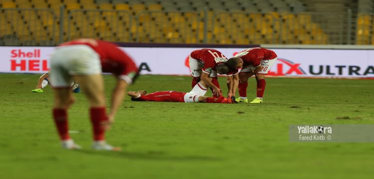 اصابة هشام محمد