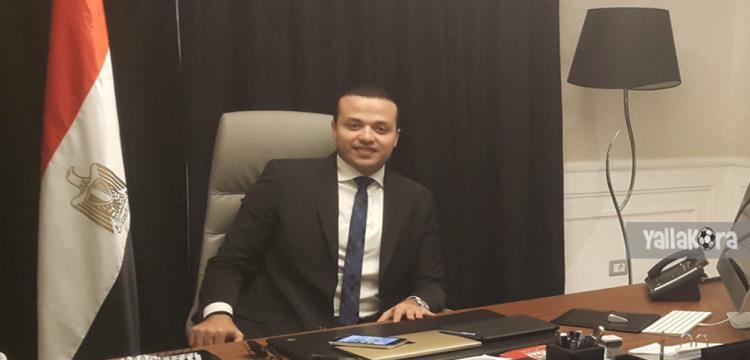 محمد الجارحي مرشح قائمة محمود الخطيب بانتخابات الأهلي