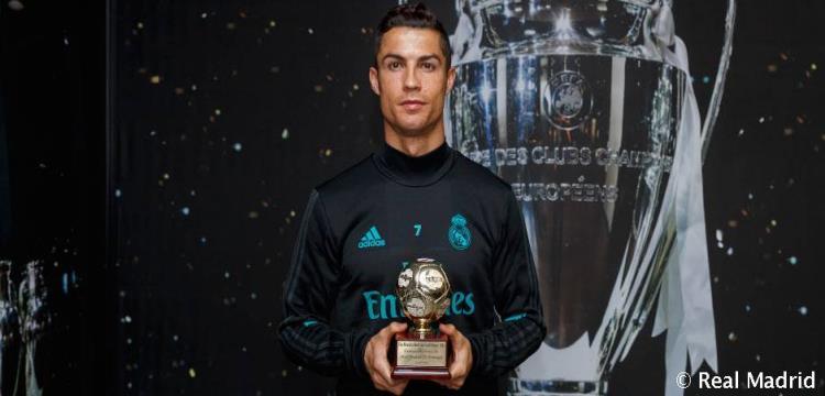 رونالدو يحصد جائزة أفضل هداف لعام 2016