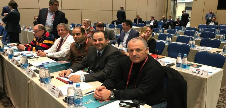 الوفد المصري في الاجتماع