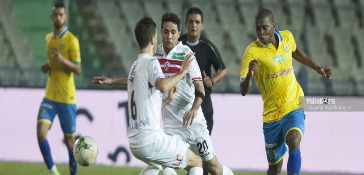 محمد إبراهيم في مباراة الإسماعيلي