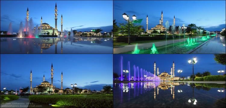 مدينة جروزني بها أكبر مسجد في أوروبا