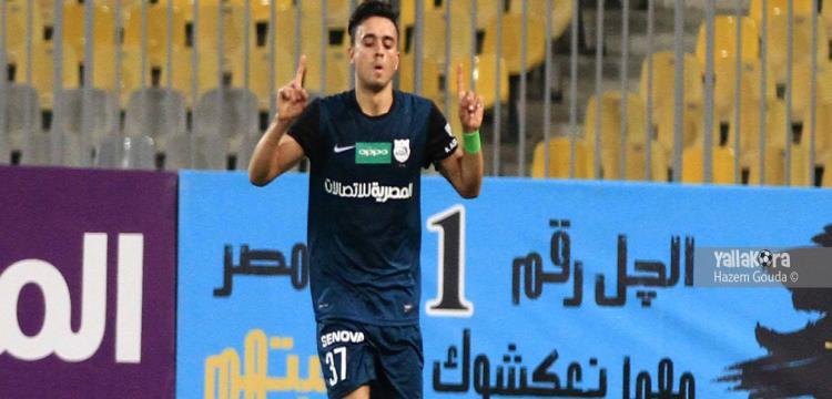 صلاح محسن سجل هدفي إنبي