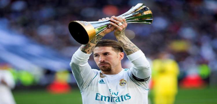 سيرخيو راموس قائد فريق ريال مدريد