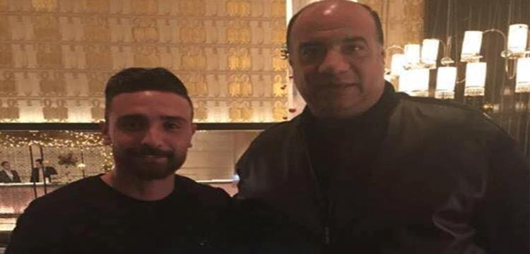 كابوريا ومحمد مصيلحي رئيس الاتحاد السكندري