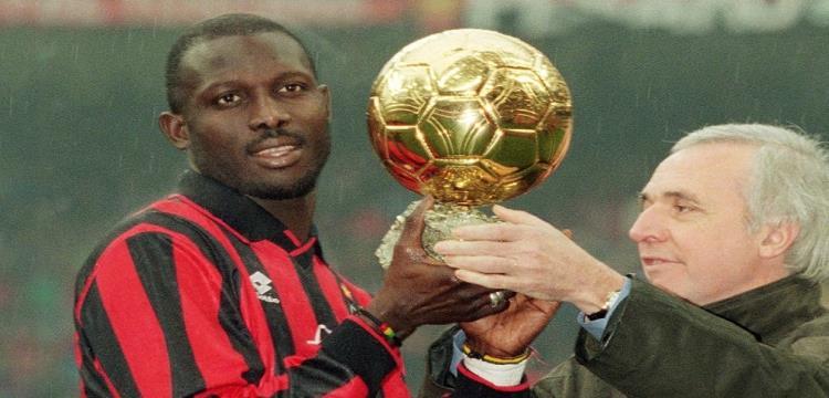 جورج ويا أفضل لاعب في العالم عام 1995