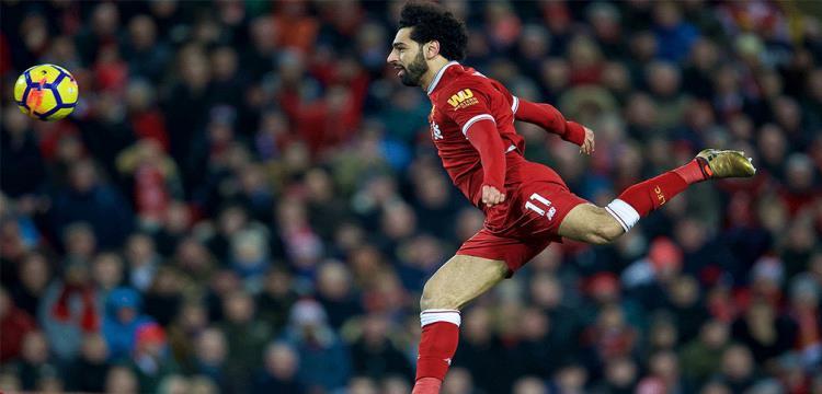 محمد صلاح في مباراة ليفربول وسوانزي