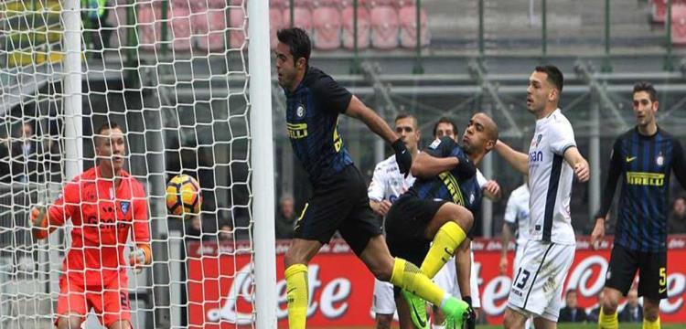 صورة من مباراة انترناسيونالي