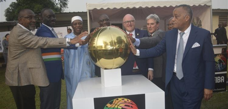 وضع حجر أساس مقر اتحاد السلة الإفريقي في كوت ديفوار