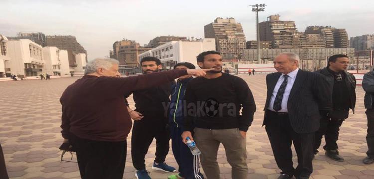 مرتضى منصور وباسم مرسي وشوقي السعيد