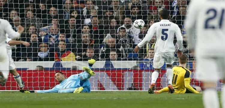 مرمى ريال مدريد استقبل 44 هدفا هذا الموسم