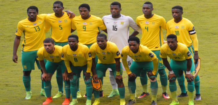 لاعبو جنوب أفريقيا