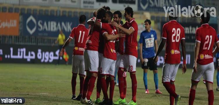 لقطة من المباراة (تصوير: محمد حسام)