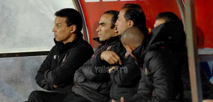 حسام البدري في مباراة الأهلي وبيدفيست (تصوير: أسامه عبد النبي)