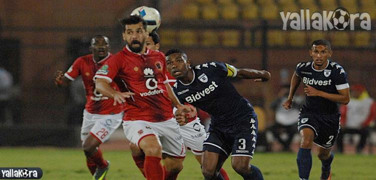 جانب من المباراة - تصوير: أسامة عبدالنبي