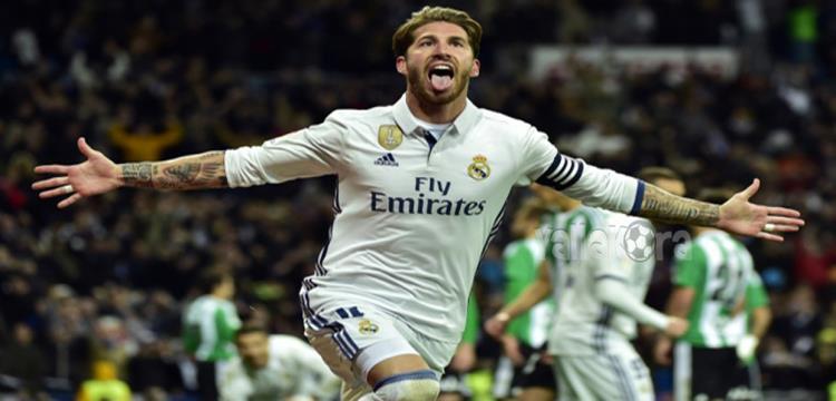 راموس مدافع وقائد ريال مدريد