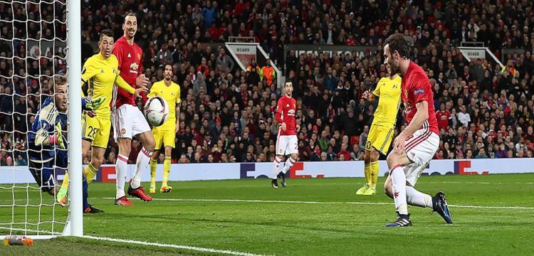 ماتا سجل هدف الفوز