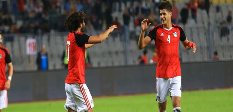 أحمد الشيخ سجل في أخر ظهور مع منتخب مصر