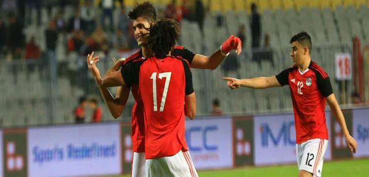 أحمد الشيخ احتفل مع النني بهدفه