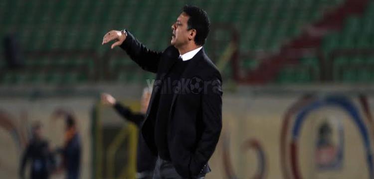 إيهاب جلال في لقطة من المباراة .. تصوير: أسامة عبد النبي