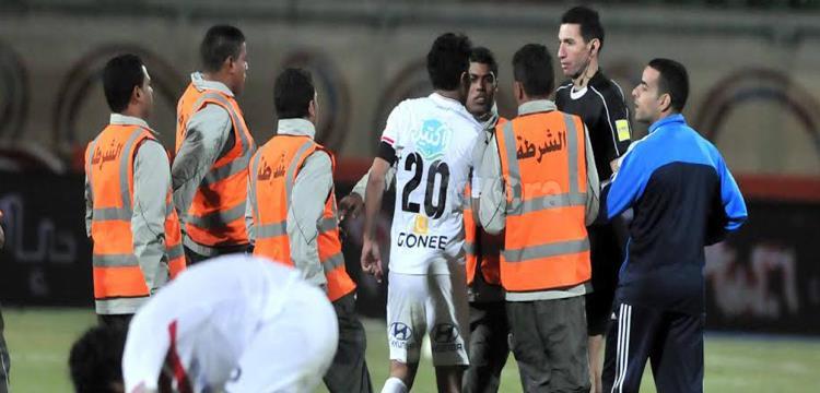 جهاد جريشة بعد المباراة.. تصوير : محمد حسام الدين