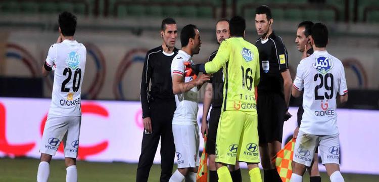 لقطة من المباراة.. تصوير: محمد حسام الدين