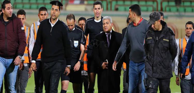 جهاد جريشة غادر في حراسة الشرطة.. تصوير: محمد حسام الدين