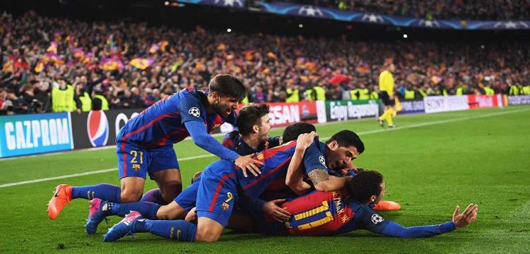 الفرحة تكررت 6 مرات لبرشلونة اليوم