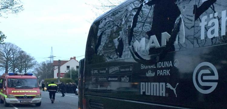 حافلة بروسيا دورتموند