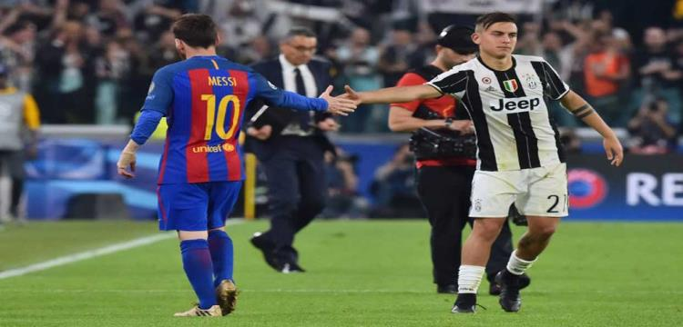 ديبالا تألق أمام برشلونة في الذهاب