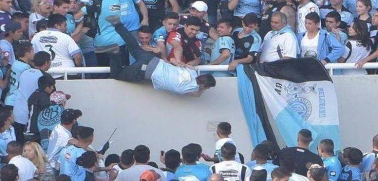 مشجع الأرجنتين