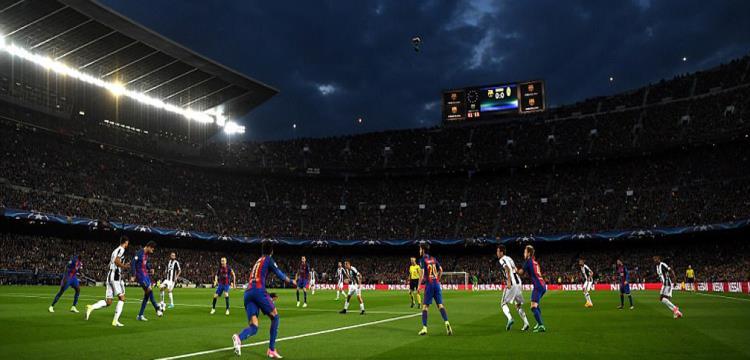 برشلونة فشل في تسجيل أي هدف في يوفنتوس