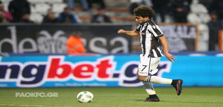عمرو وردة لاعب باوك اليوناني