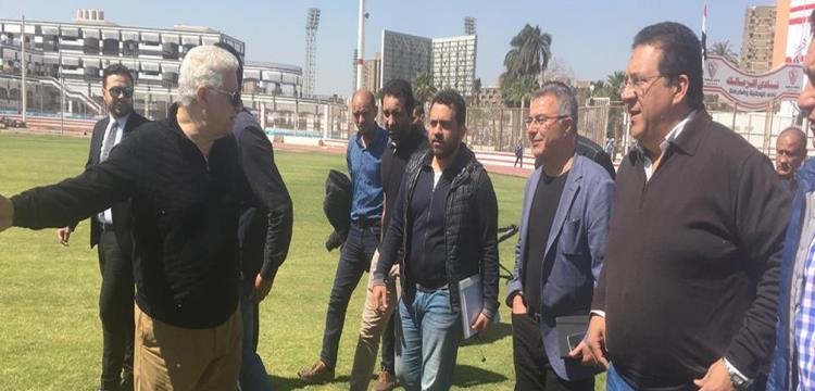 ايناسيو داخل ملعب أبو رجيلة