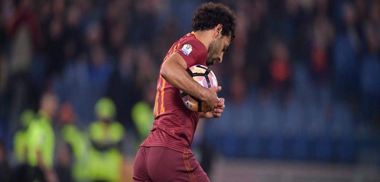 محمد صلاح لاعب روما