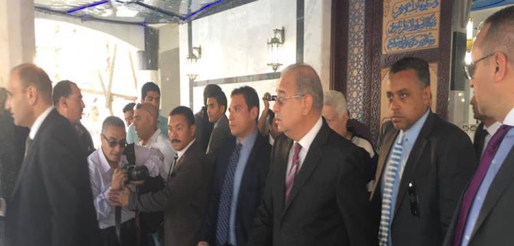 جانب من زيارة المهندس شريف إسماعيل