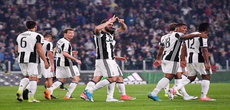 يوفنتوس متصدر الدوري الإيطالي