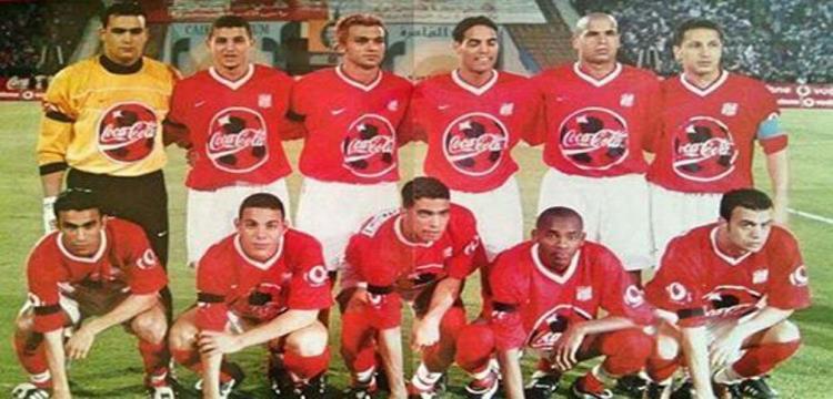 صورة ارشيفية لفريق الأهلي في مباراة الـ6/1