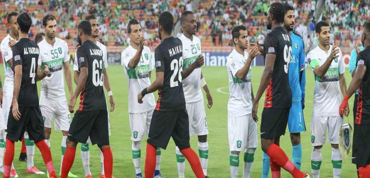عبدالشافي قبل المباراة