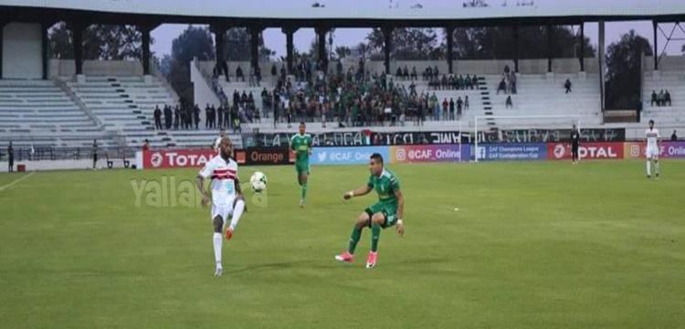 شيكابالا في لقطة من المباراة