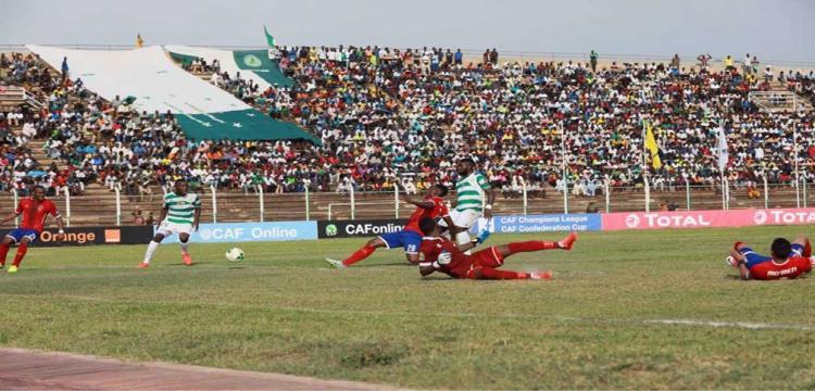 صورة من مباراة الأهلي والقطن