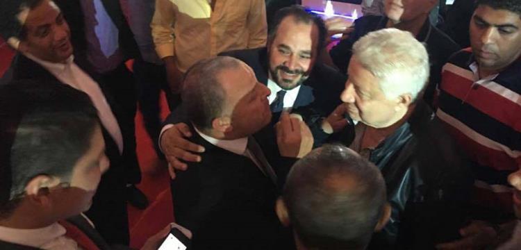 هاني أبو ريدة ومرتضى منصور