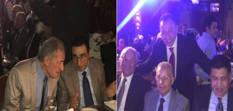 جانب من تكريم حسن حمدي