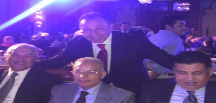 محمد الخطيب في حفل تكريم حسن حمدي