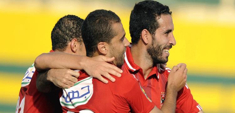 محمد أبو تريكة لاعب الأهلي