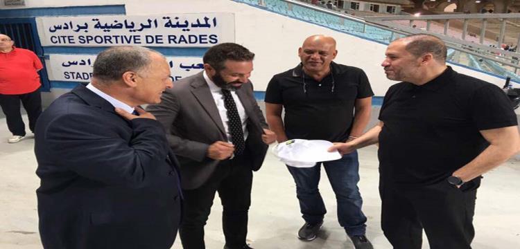 هاني ابوريدة وحازم امام ونبيل معلول
