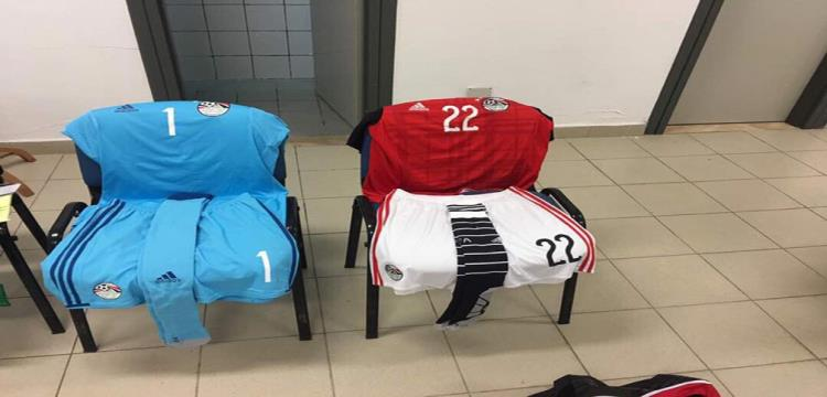 زي المنتخب المصري أمام تونس