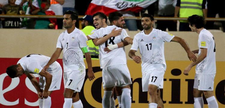 لاعبو إيران