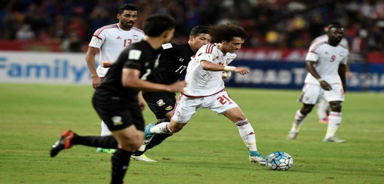 صورة من لقاء الامارات وتايلاند