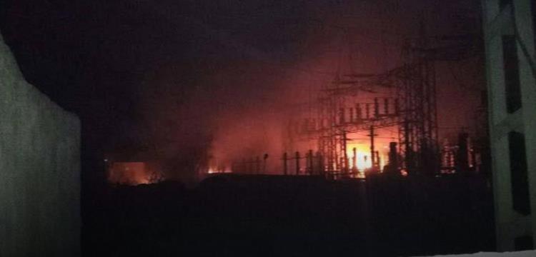 حريق داخل مقر الزمالك